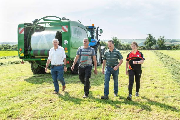Dairygold Coop Supplier Eliminates Baled Silage Waste