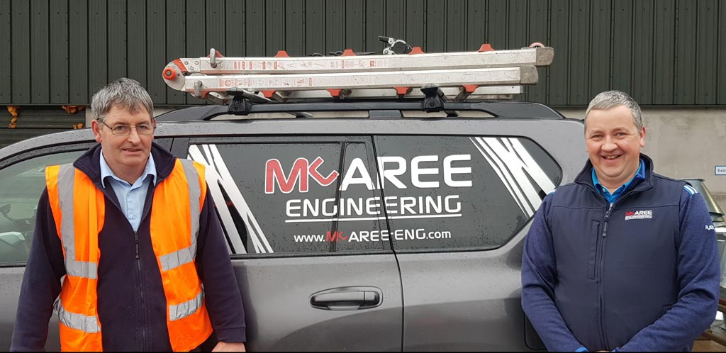 Changing of the Guard at McAree Engineering