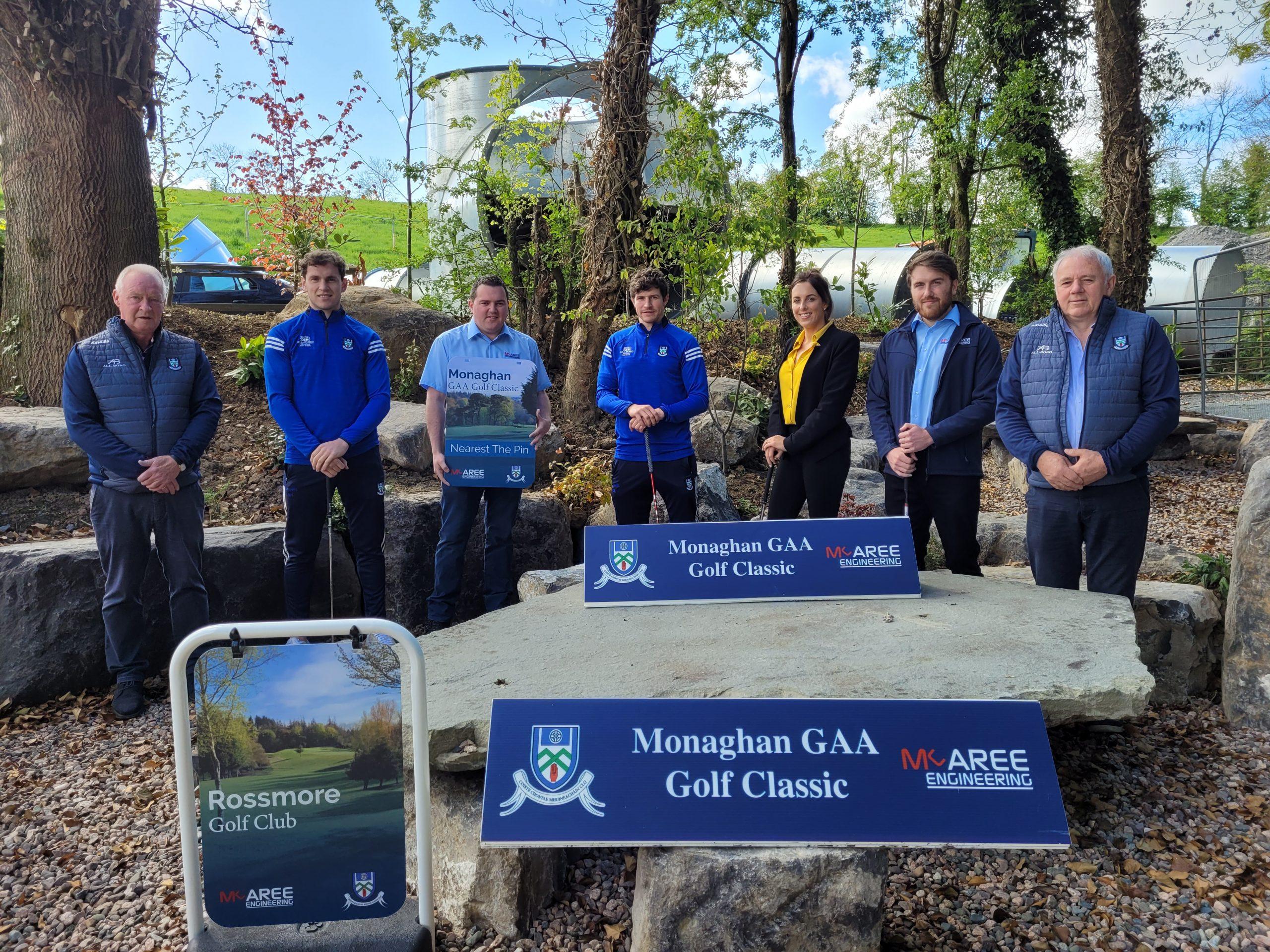 McAree Engineering Sponsorship of 2021 Monaghan GAA Golf Classic